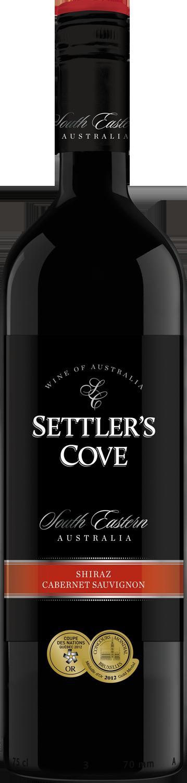 Settlers Cove_Shiraz Cab Sauv_750ml_SANS MILLESIME