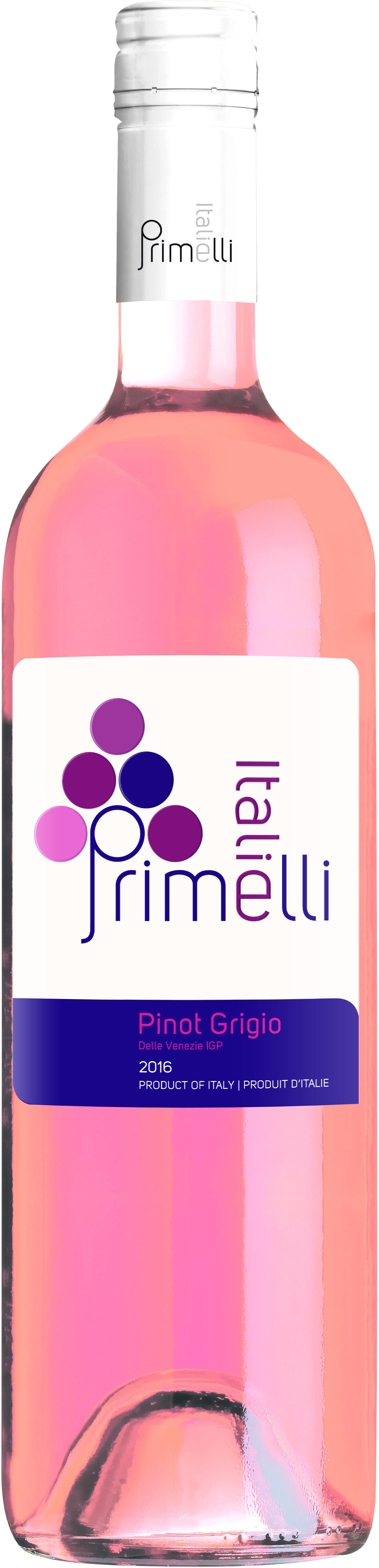 Primelli Pinot Grigio Rose_Delle Venezie IGP_750ml